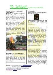 16. Infobrief des Fördervereins 01. Mai 2009 OSTERFEUER IM ...