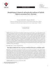 Morphological, chemical, and molecular ... - Scientific Journals