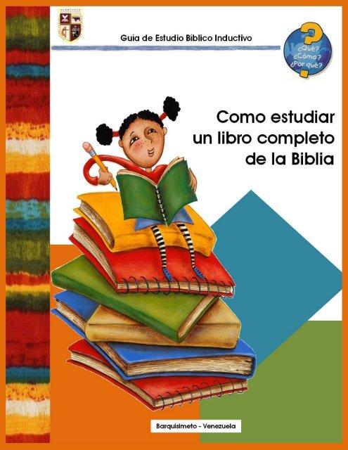 Como Estudiar Un Libro Completo De La Biblia Pdf