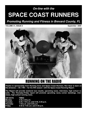 Sept 2009 - Space Coast Runners