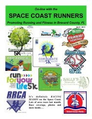 April - Space Coast Runners