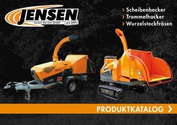 Jensen Produktkatalog Holzhacker