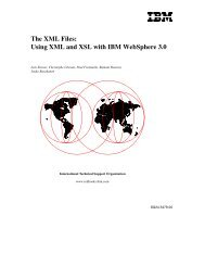 Introduction to XML and native XML technologies on the IBM