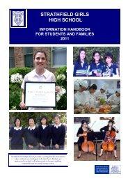 Information Handbook 2011 - Strathfield Girls High School