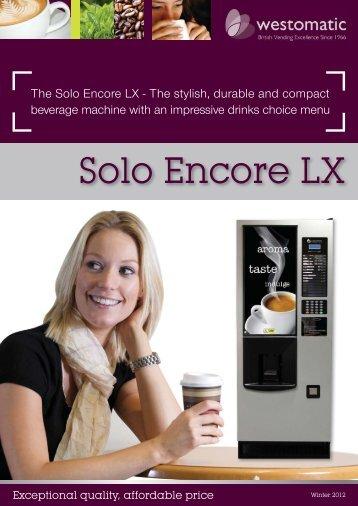 The Solo Encore LX - Westomatic
