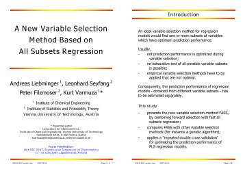 A New Variable Selection Method Based on All Subsets Regression
