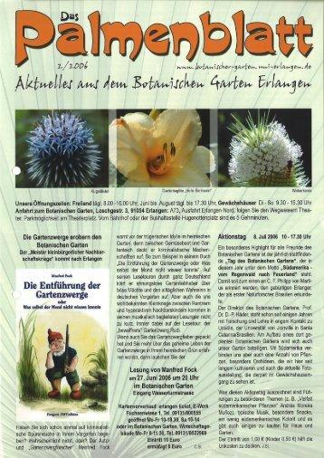 2/2006 - Botanischer Garten Erlangen