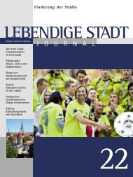 Journal 22 zum downloaden (PDF 2,3 MB - Lebendige Stadt