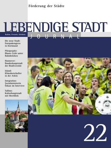 Journal 22 zum downloaden (PDF 2,3 MB - Lebendige Stadt