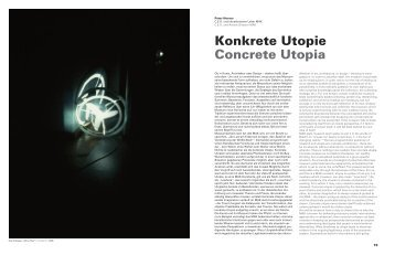 Konkrete Utopie Concrete Utopia - Peter NoEver - MAK
