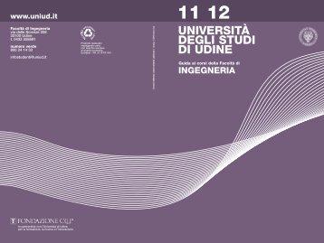 Ingegneria - Università degli studi di Udine
