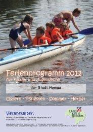 Ferienprogramm 2012 der Stadt Hemau