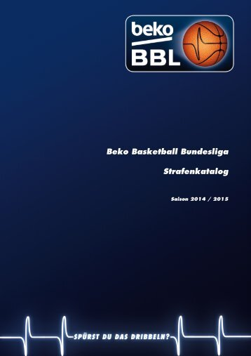 Beko BBL-Strafenkatalog 2014-2015