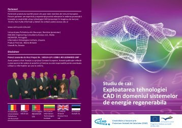 Exploatarea tehnologiei CAD in domeniul sistemelor de energie ...