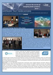 euCAD Newsletter – Issue 4 – Innovation and Creativity