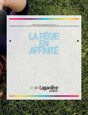 Brochure 2013 (PDF - 8,20 Mo) - Lagardère Publicité