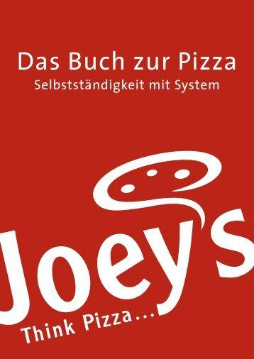 Das Buch zur Pizza - Joey's Pizza Service