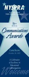 2007 Award Winners [PDF] - New York School Public Relations ...