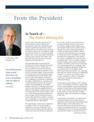 From the President - Child Neurology Society