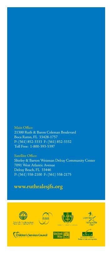 programs - Ruth Rales Jewish Family Service