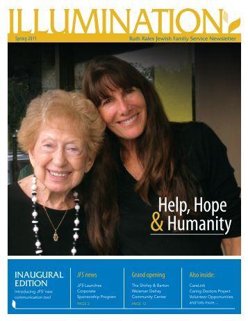 Help, Hope Humanity - Ruth Rales Jewish Family Service