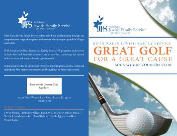 GREAT GOLF - Ruth Rales Jewish Family Service