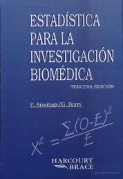 Estadística para la investigación biomédica - FarmacoMedia