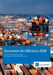 Document de référence 2008 - Euler Hermes