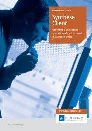 Téléchargez notre brochure commerciale - Euler Hermes