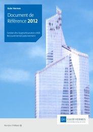 Document de Référence 2012 - Euler Hermes