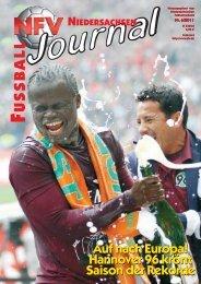 Ausgabe 06-2011 - Niedersächsischer Fußballverband