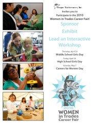 Oregon Tradeswomen Invite to Participate Flyer