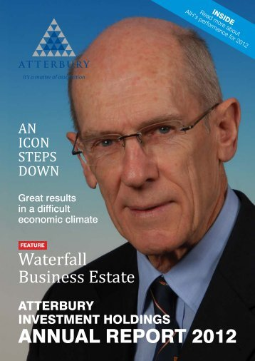 ANNUAL REPORT 2012 - Atterbury Property Holdings