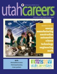 Utah Careers Magazine