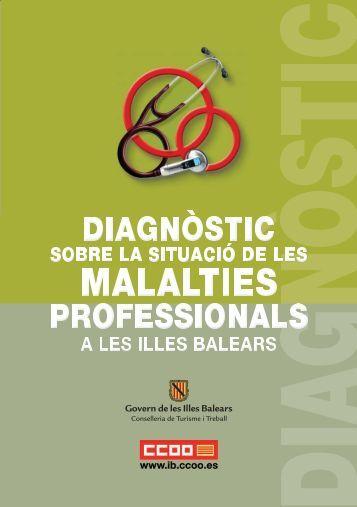 Diagnòstic sobre la situació de les malalties professionals a les Illes ...