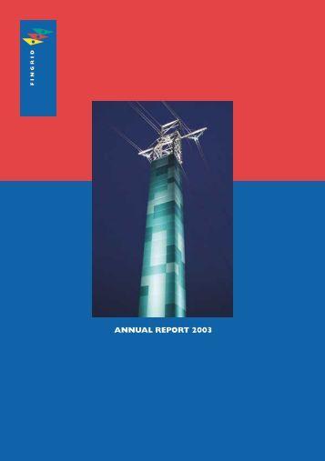 ANNUAL REPORT 2003 - Fingrid