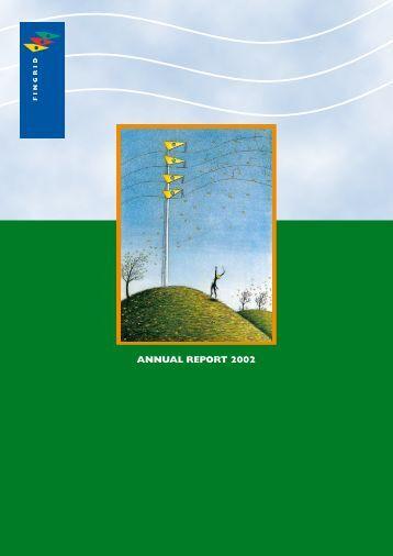 ANNUAL REPORT 2002 - Fingrid