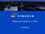 Avaus - Fingrid