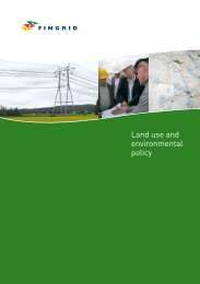 Land use and environmental policy - Fingrid