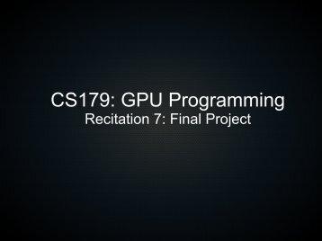 Final Project - Caltech