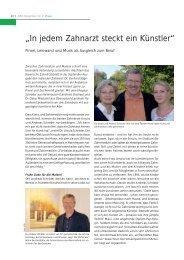 Seite 48 bis 50 - Bayerisches Zahnärzteblatt