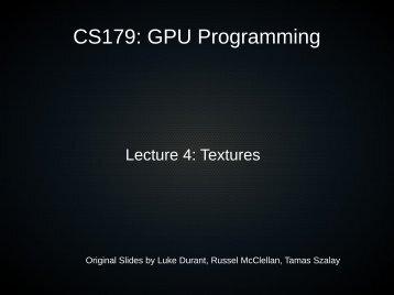 Textures - Caltech