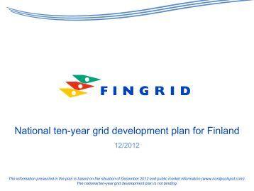 National ten-year grid development plan for Finland - Fingrid