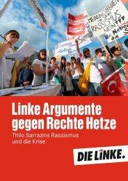 Linke Argumente gegen Rechte Hetze Thilo Sarrazins ... - Die Linke