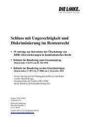 Deutscher Bundestag - DIE LINKE. Westsachsen