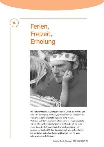 Ferien, Freizeit, Erholung 8. - Bistum Würzburg