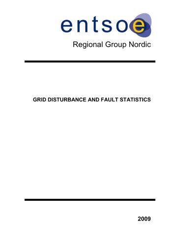 Fault statistics - Fingrid