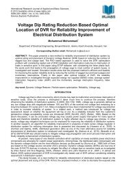 Voltage Dip Rating Reduction Based Optimal Location of DVR for ...