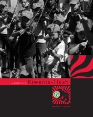 AUSGABE 03/10 Kiwanis-Flash - Kiwanis Club Bern