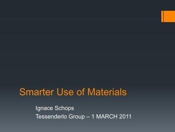 Download the presentation - Tessenderlo Group